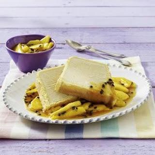 Tiramisu-Parfait mit Mango-Passionsfrucht-Kompott