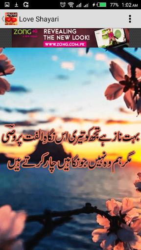 Love Poetry (Shayari) In Urdu screenshot