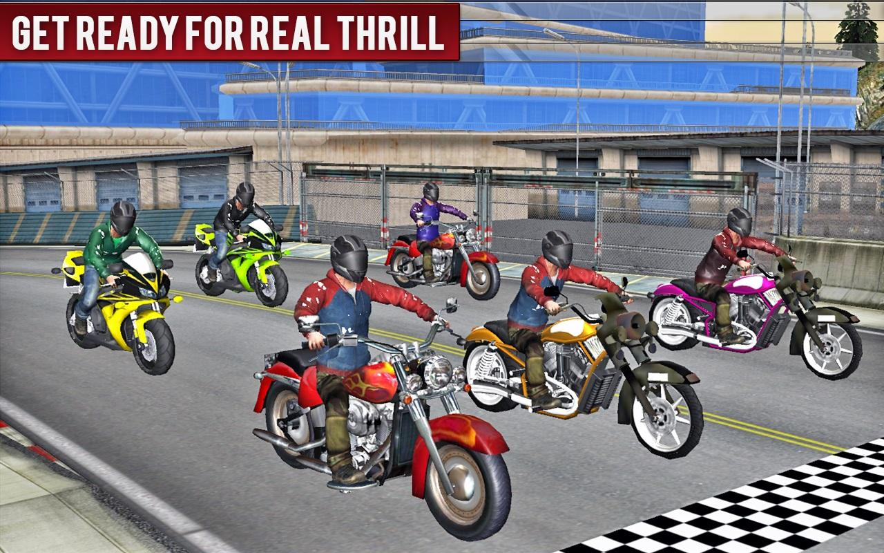 🏍️New Top Speed Bike Racing Motor Bike Free Games- screenshot
