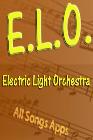 All Songs of E.L.O.