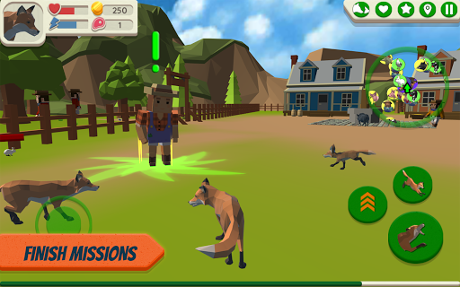 Fox Family - Animal Simulator 3d Game apkmr screenshots 3