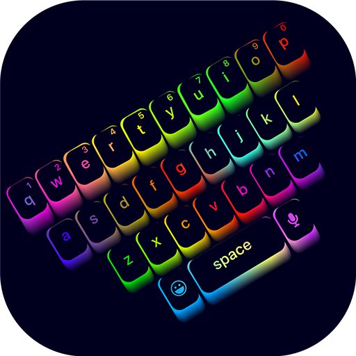 LED Keyboard Lighting - Mechanical Keyboard RGB Icon
