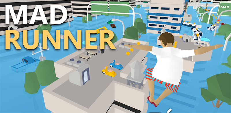 MAD RUNNER : parkour, funny, hard! – APK MOD HACK – Dinheiro Infinito