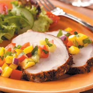 Pork Roast with Mango Salsa