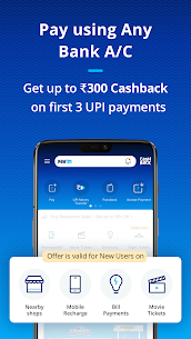 Paytm – BHIM UPI, Money Transfer & Mobile Recharge Mod 8.6.2 Apk [Unlocked] 2