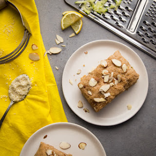 Almond Zucchini and Ginger Scones.