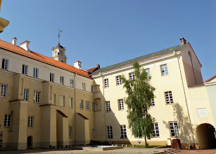 Photo: The Jesuits founded Vilnius University in 1568.  It is the oldest university in any of the Baltic States.  It is also Lithuania's largest.