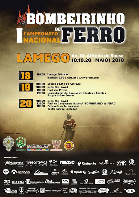 1º Campeonato Nacional - Bombeirinho de Ferro - Lamego - 2018