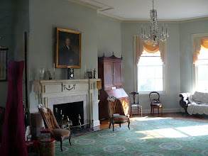 Photo: 3.c. Laurel Hill. An octagonal room, added early in the 19th c. is a special feature of the house. It is frequently used for chamber concerts.