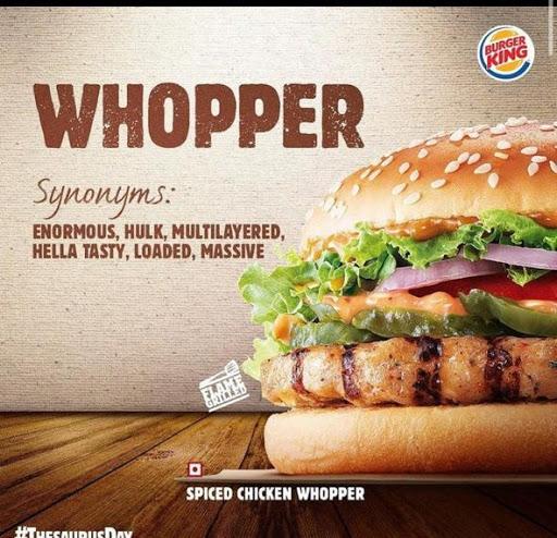 Burger King menu 5
