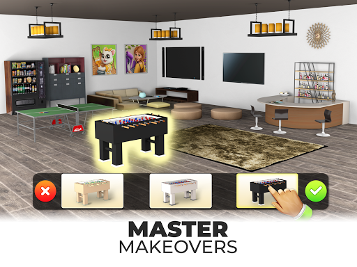 My Home Makeover - Design Your Dream House Games 2.3 screenshots 5