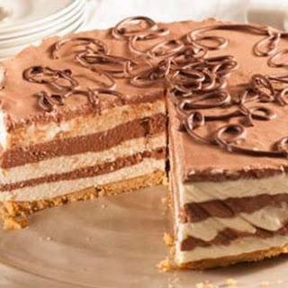 No-bake Chocolate Cheesecake.