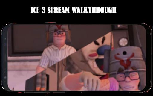 Ice 3 Cream neighbor ice Rod Scream Hints MOD 3 screenshot 4