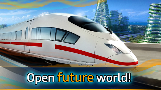 Future train driving Games (apk) free download for Android/PC/Windows screenshot