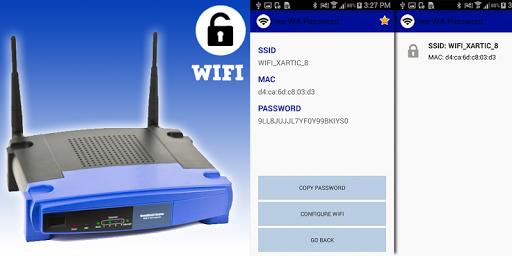 無料のWiFiのパスワード2016