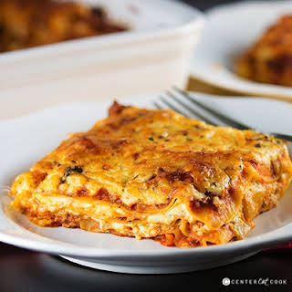 Four Cheese Classic Lasagna.