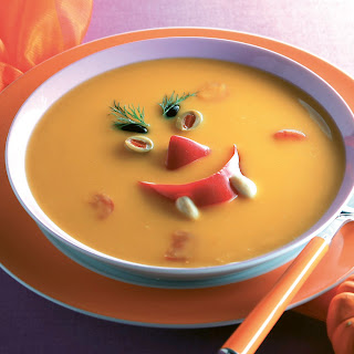 "Kürbiscreme-Suppe ""Halloween"""