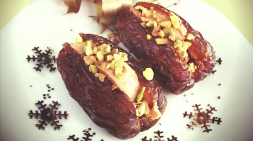 Dattes foie gras