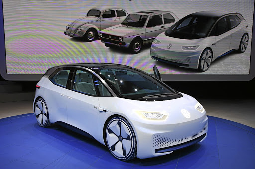The I.D. hatch will be Volkswagen's first full EV offering. Picture: NEWSPRESS UK