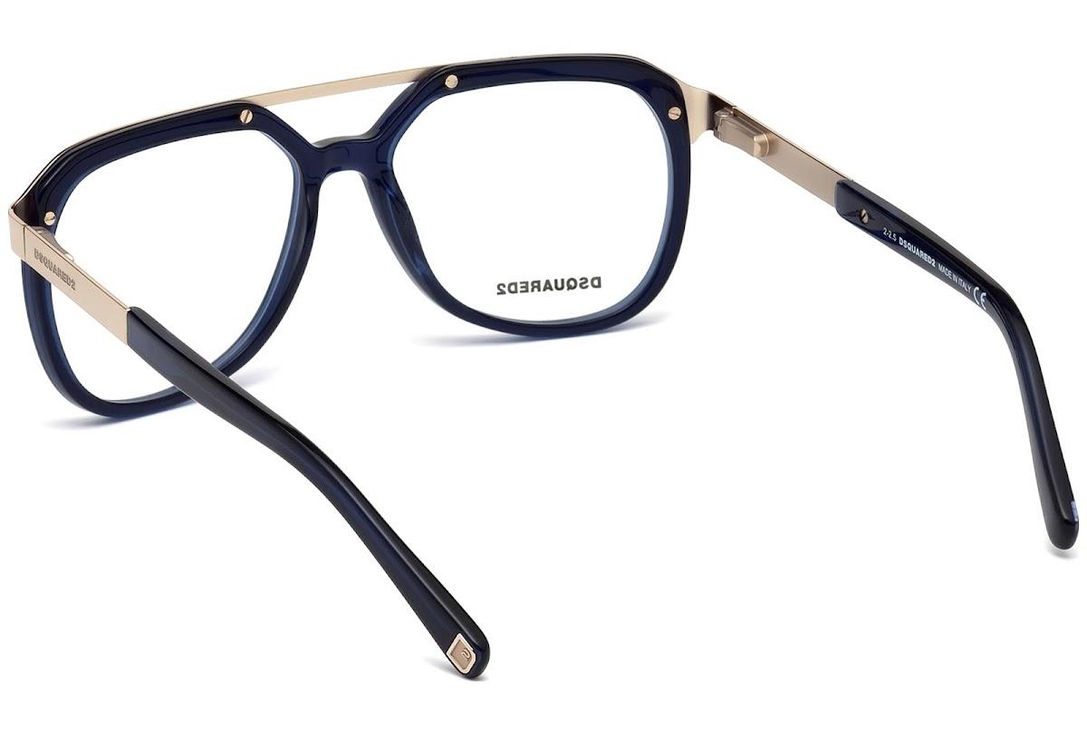 Buy Dsquared2 DQ5190 C54 090 (shiny blue   ) Frames   opti.fashion c020ff8bf984