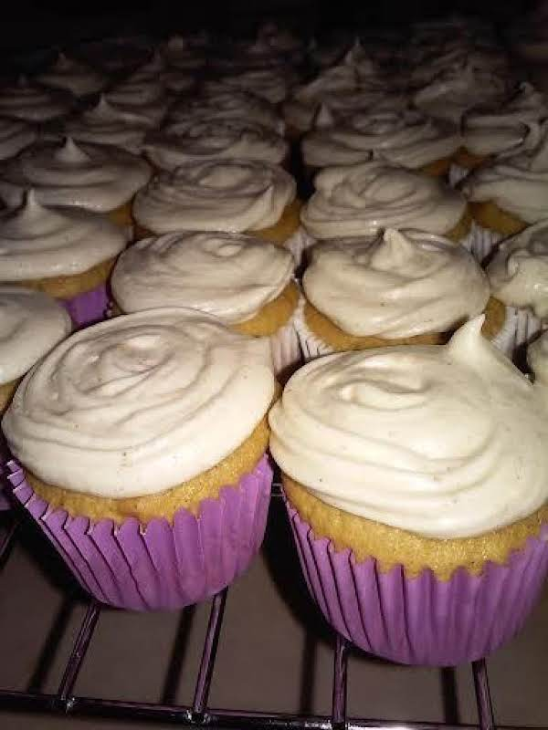 Topped With Maple Pumpkin Spice Frosting