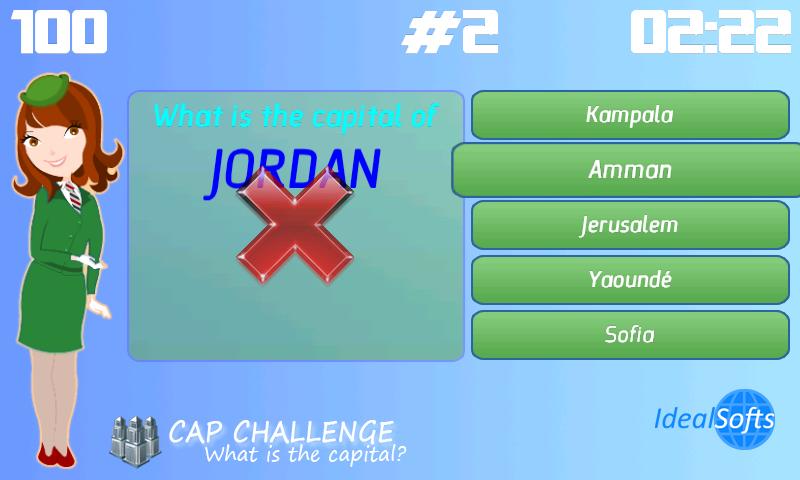 Скриншот World Quiz Challenge