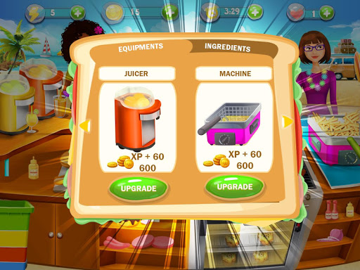 Cooking Island - A Chef's Cooking Game for Girls android2mod screenshots 5