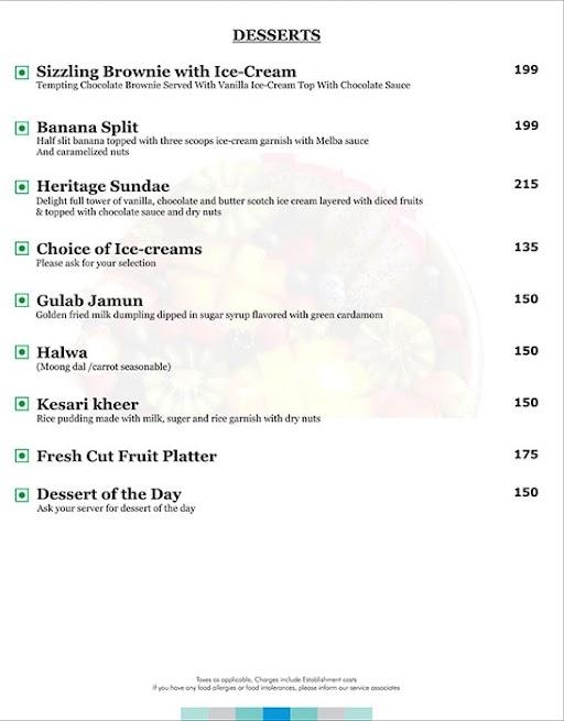 Azure - GenX Casaya Inn menu 2