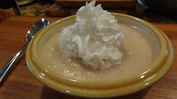 Hot Or Chilled Apple Soup