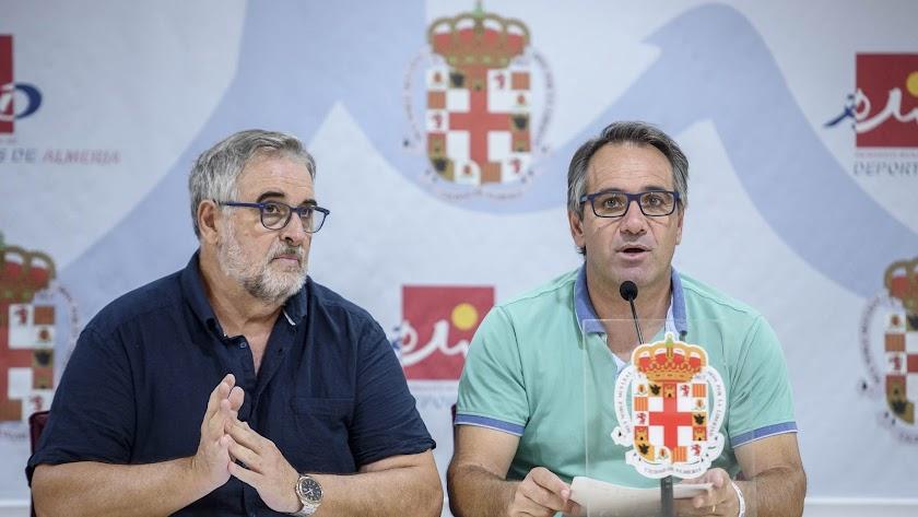 Juanjo Segura y José Carlos Tejada.