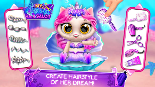 My Animal Hair Salon - Style, Create & Experiment 5.0.8 screenshots 2