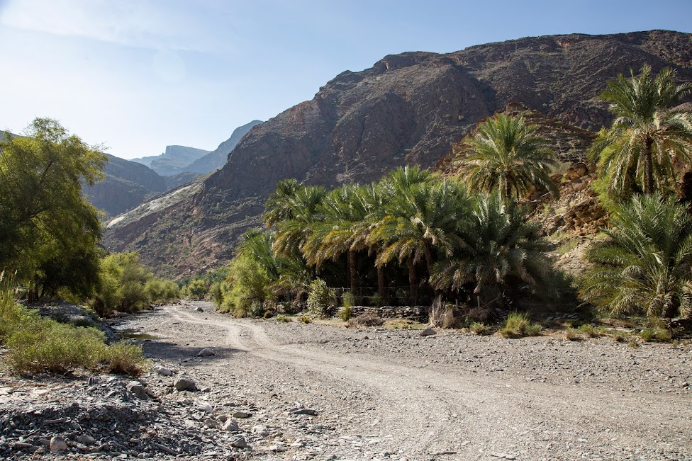 Oman, Wadi Bani Awf, offroad