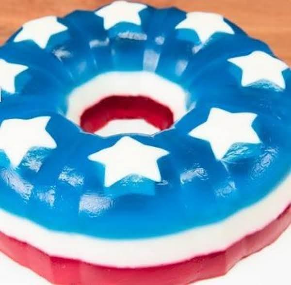 4th Of July Jello Cake