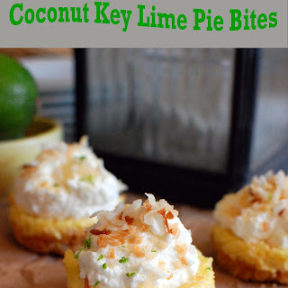 Coconut Key Lime Pie Bites