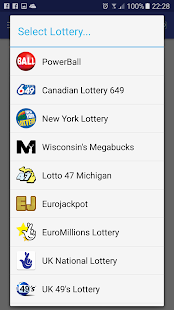 LottoSmart app lottery numbers- screenshot thumbnail
