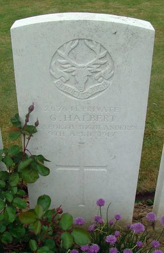 George Halbert grave