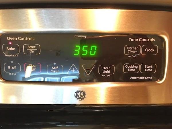 Preheat oven to 350°F.