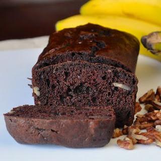 Double Chocolate Pecan Banana Bread