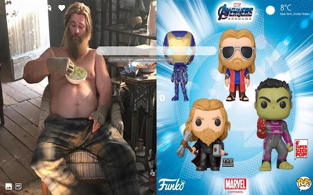 Avengers Endgame Thor Lebowski HD Wallpaper