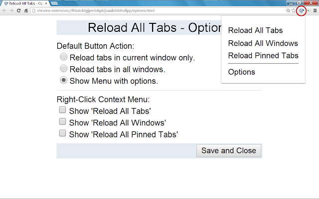 Reload All Tabs