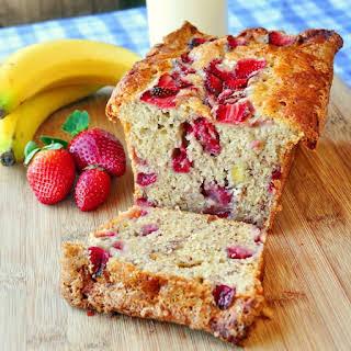 Strawberry Banana Bread.