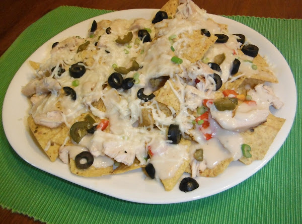 Italian  Chicken Nachos! Recipe