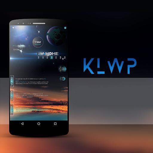 Klwp SkyBlue file APK Free for PC, smart TV Download