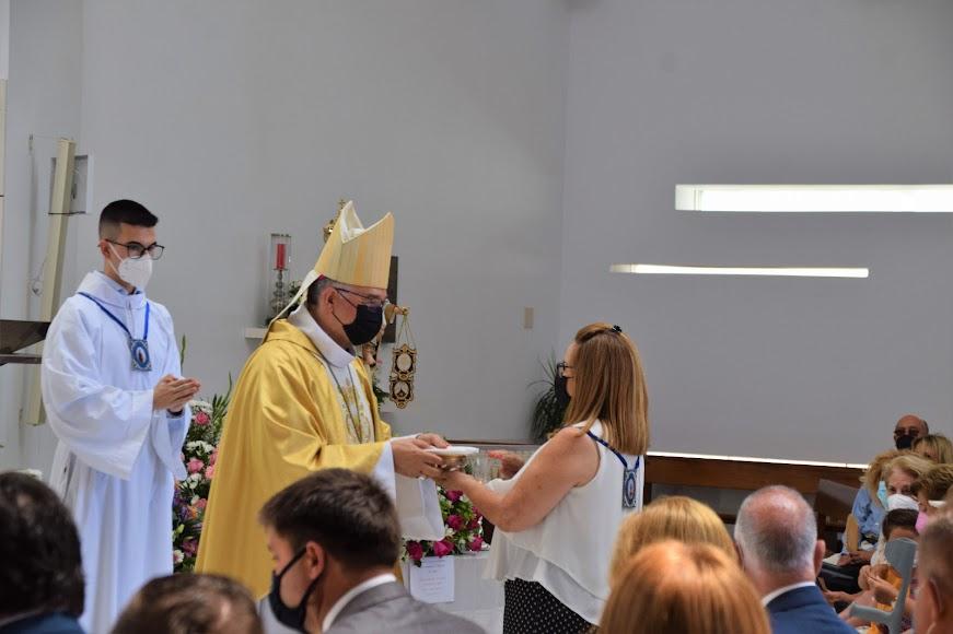 Primera celebración de Santa Ana de Gómez Cantero.
