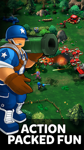 Mini Guns - Omega Wars 1.0.17 screenshots 2