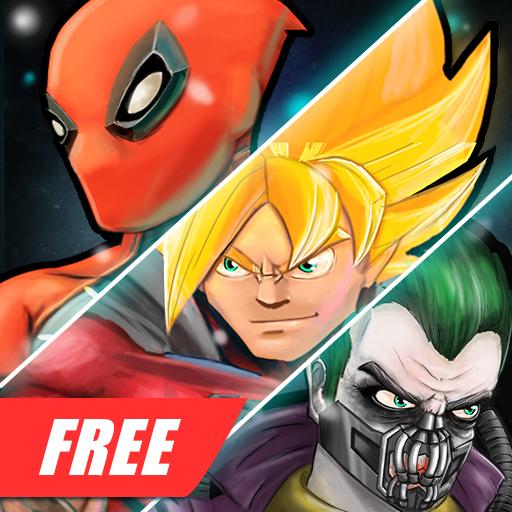 スーパーヒーロー3無料格闘ゲーム 動作 App LOGO-硬是要APP