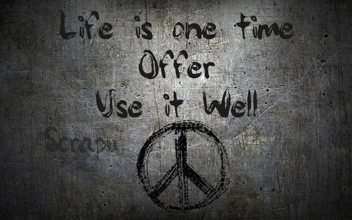 Life is one time Offer.  image