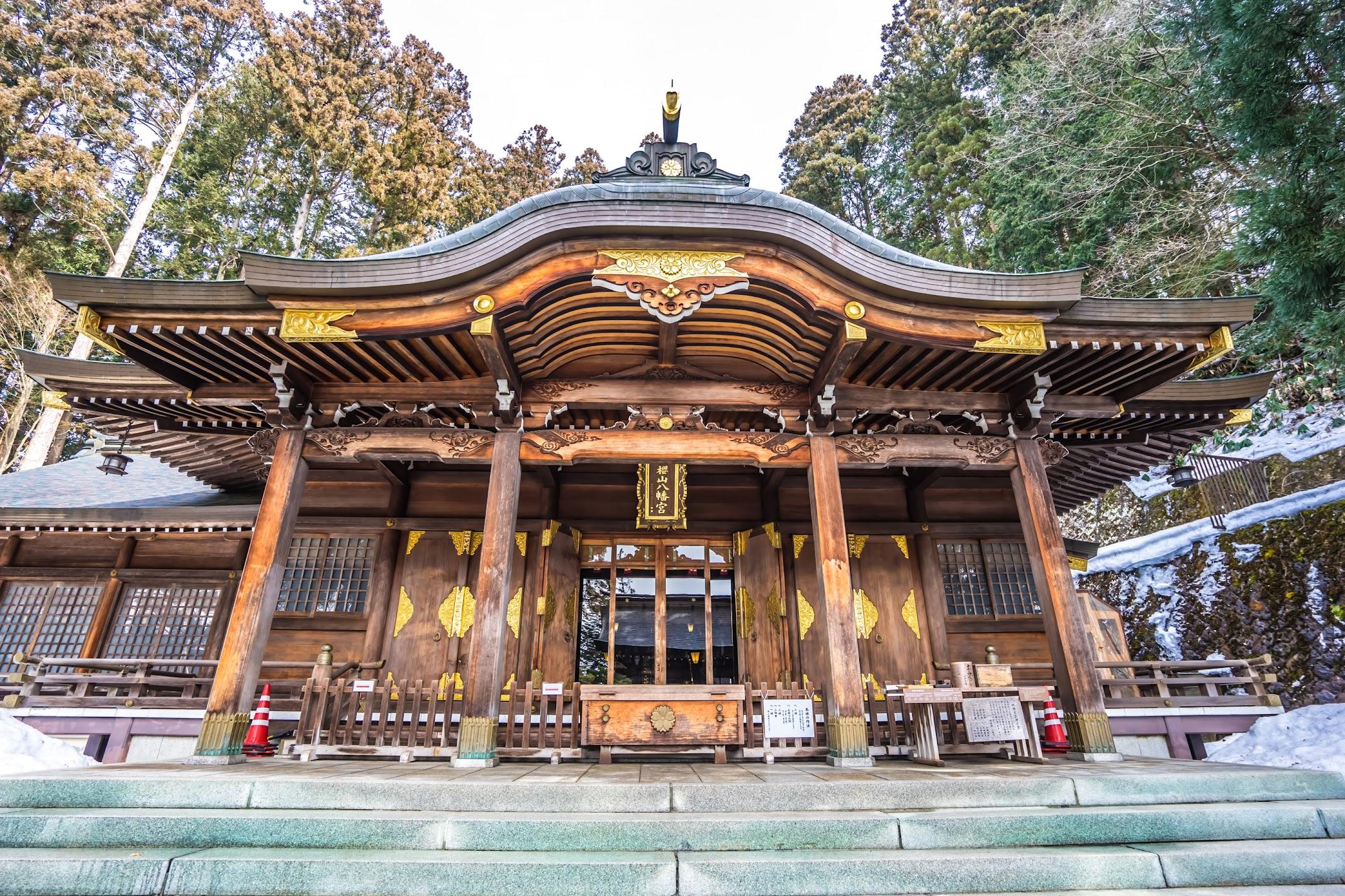 Hida Takayama Sakurayama Hachimangu Shrine2