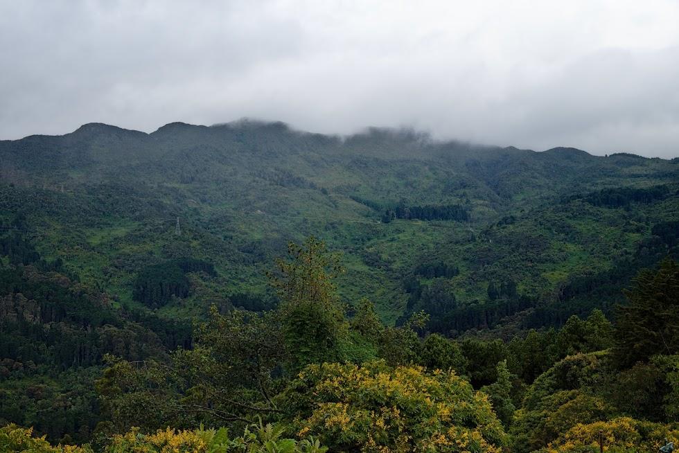 Monserrate, Bogota widok