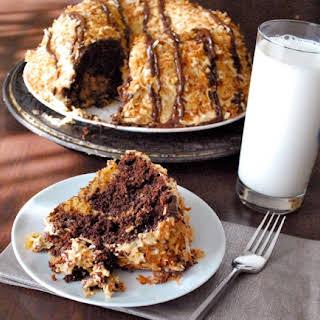 Samoa Bundt Cake.
